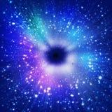 Estratto di spazio cosmico Immagine Stock