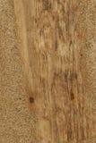 Estratto di struttura del fondo del Driftwood - legno in sabbia. Immagini Stock Libere da Diritti