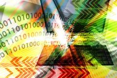 Estratto di tecnologie informatiche Immagini Stock