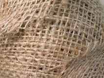 Estratto di tela del tessuto Fotografia Stock