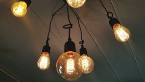 estratto di una lampadina fotografie stock