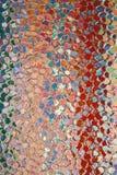 Estratto di vetro irregolare Fotografie Stock