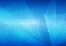 Estratto di vettore sul fondo blu di colore Fotografie Stock Libere da Diritti