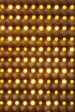 Estratto dorato di illuminazione Fotografia Stock