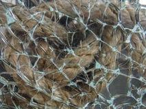 Estratto e fondo di vetro rotti immagine stock