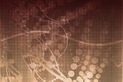 Estratto futuristico di tecnologia di scienza medica Immagini Stock Libere da Diritti
