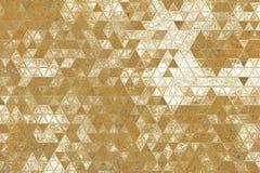 Estratto geometrico del fondo di struttura dell'oro yellow royalty illustrazione gratis
