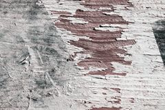 Estratto Gray Painted Wooden Background Parete verniciata Vecchio fondo di legno di struttura della parete immagine stock libera da diritti