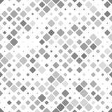 Estratto grigio che ripete progettazione quadrata diagonale del fondo del modello illustrazione di stock