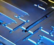 Estratto metallico Fotografie Stock Libere da Diritti