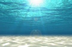 Estratto nell'ambito del fondo del mare illustrazione di stock