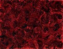 Estratto nero e rosso Fotografia Stock
