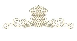 Estratto - ornamento illustrazione vettoriale