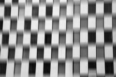 Estratto a quadretti del mosso del modello in bianco e nero Fotografia Stock Libera da Diritti