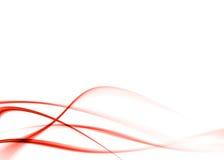 Estratto rosso Fotografie Stock