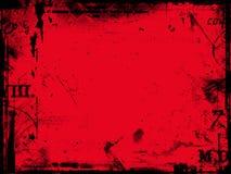 Estratto rosso Fotografia Stock Libera da Diritti