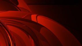 Estratto rosso del metallo Immagini Stock Libere da Diritti