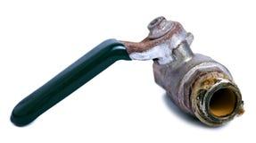 Valvola rotta dell'impianto idraulico Fotografie Stock