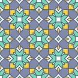 Estratto senza cuciture geometrico arabo, ornamento turco del modello di vettore Immagine Stock