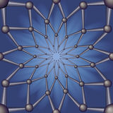 Estratto senza giunte del reticolo geometrico. Fotografia Stock Libera da Diritti