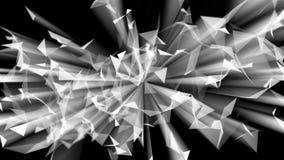 Estratto straniero della fibra di frattale Fotografie Stock