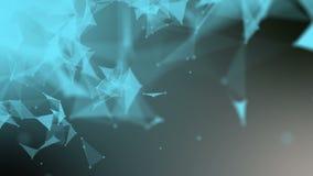 Estratto straniero della fibra di frattale Fotografia Stock
