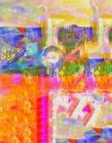 Estratto su Camvas Fotografie Stock Libere da Diritti