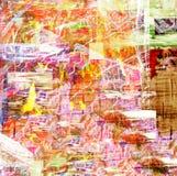 Estratto su tela di canapa Fotografie Stock