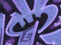 Estratto urbano dei graffiti immagini stock