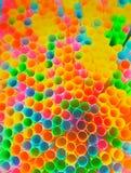 Estratto variopinto del fondo di plastica del tubo Fotografia Stock Libera da Diritti