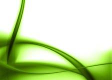 Estratto verde Fotografia Stock