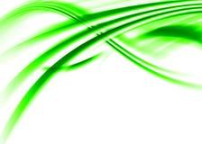 Estratto verde Fotografie Stock