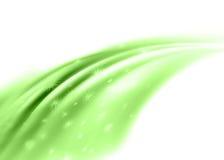 Estratto verde Immagine Stock