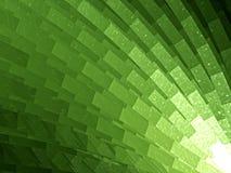 Estratto verde del reticolo illustrazione di stock