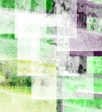 Estratto verde e nero illustrazione di stock