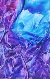 Estratto viola & blu Immagini Stock Libere da Diritti