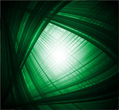 Estratto virtuale con fondo verde nero Fotografie Stock