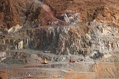 Estrazione mineraria fotografia stock