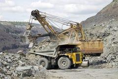 Estrazione mineraria Immagini Stock