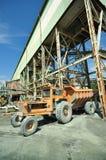 Estrazione mineraria del diamante Fotografia Stock Libera da Diritti