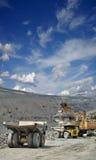 Estrazione mineraria del minerale di ferro Immagine Stock Libera da Diritti