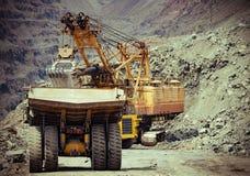 Estrazione mineraria del minerale di ferro Immagine Stock