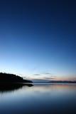 Estrecho de Juan De Fuca, costa del estado de Washington Imágenes de archivo libres de regalías