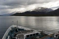 Estrecho de Magallanes Chile Foto de archivo