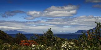 Estrecho de Magallanes, Patagonia, Chile Foto de archivo