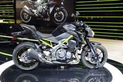 Estreia mundial 2016 de Kawasaki z900 Imagem de Stock