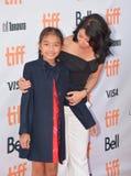 Estreia mundial do ` primeiramente mataram meu ` do pai com diretor Angelina Jolie no festival de cinema do International de Toro imagem de stock royalty free