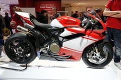 Estreia mundial 1299 do superleggera de Ducati 2016 Fotografia de Stock Royalty Free