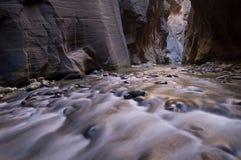Estreitos do rio do Virgin Foto de Stock