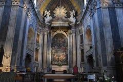 Estrela大教堂在里斯本,葡萄牙 图库摄影